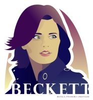 Det Kate Beckett - Stana Katic by katessence