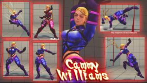 SSFAE PC - Cammy Williams by Siegfried129