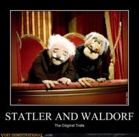 Statler and Waldorf by Angel27655