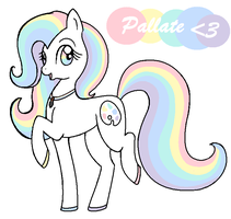 Pallate Pony by ZIM402