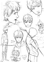 random Jack Frost sketches by kotorikurama