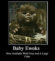 Baby Ewoks by ZombieT-Bag