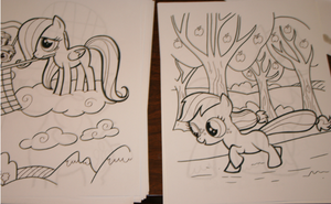 Coloring Book Page 10 by SoarinPie