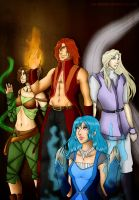 Four Elements, four kingdoms - Watair by REQ-Inferno