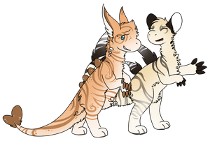 Vaiki Gift Art - Parthenon and Annie by AutumnColorsFall