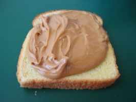 Peanut Butter Bread by captainsexy