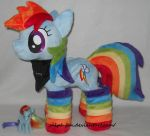 cute and awesome Rainbow Dash by MLPT-fan