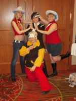 Kid, Liz, Patty, and Soul at A-kon23 by Death-the-Girl88
