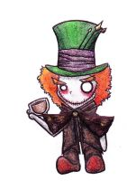 The Madder Hatter by x-wolfsong-x