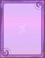 Gradient of Purple Stationary by Erialosa