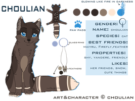 Choulian Ref Sheet by choulian