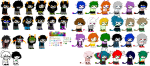 HS OC SPRITE OVERLOAD (outdated) by Magdaleen-96