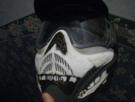 skull paintball mask by jrobbo