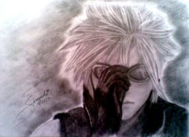 Cloud Strife by satchirakazuki