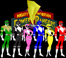 Mighty Morphin Power Rangers Animated by CaptainDutch