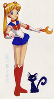 Sailor Moon by prismageek