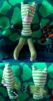 Lester the Leprechaun by pinkfizzypops
