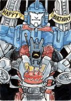 Birthday Robots by angelac