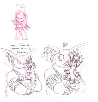 More of Sweetpea and The Great Cobra by Mickeymonster