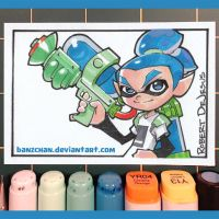 Splatoon Card by Banzchan