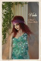 Viola Flapper Boho BJD Ball jointed doll by SutherlandArt