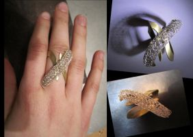 knitted ring by daisY-like