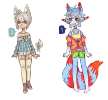 Adoptable Auction - [closed] by myneea