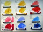 Watercolour Sticks' Review by Leochi