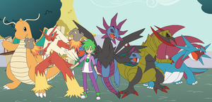 Ponyville Gym Leader Spike by SelenaEde