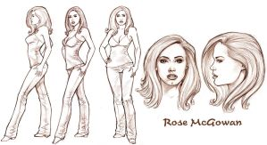 Rose Model Sheet by Tarzman