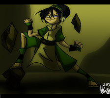 Toph Beifong by Freakly-Show