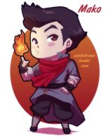 Firebender B by zambicandy