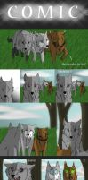 Wolf Comic by Charies2011