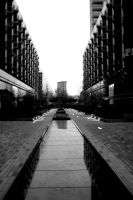 London Buildings B and W by TheGoldenTomato