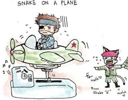 Snake on ...by:lamiathevampire by metalgearsolidfans
