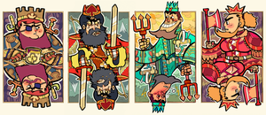 Four Kings by TR-B