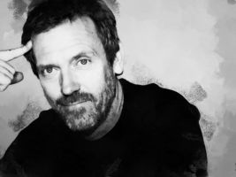 Hugh Laurie Portait by GregHouseFan