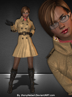 Sheva Alomar - Outerwear Coat by JhonyHebert