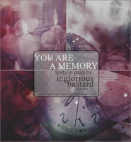 You Are A Memory - Texture Pack #04 by inglorious-bastard