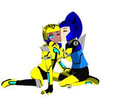 Bumblebee and Zoey Together by gaby264