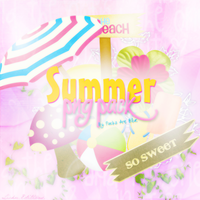 Summer Png Pack by ForeverDemiLovato