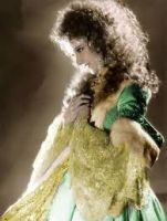 Christine Daae  in color by scarymovie13