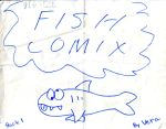 Big Size FISH COMIX Book 1 by queenvera