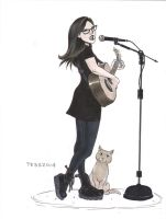 Lisa Loeb Commission 2014 by TessFowler