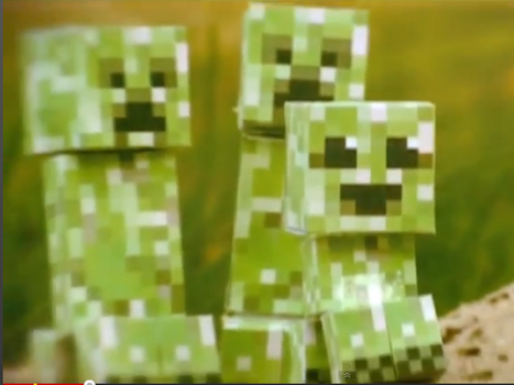 Cute Creeper Family by kerske12