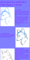 M.S. Paint Basics Tutorial by Silverwind-fox-wolf