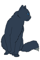 .:Warriors:. Bluestar - Stand in the rain _WIP_ by MichelleTheCat