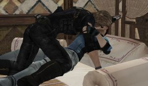 Wesker And Jill Romance by akmal777