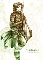 The three musketeers - D'artagnan by Zeiruin