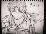 Levi from AOT by kaciep1